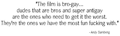 the film is bro-gay