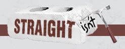 straight isn't.